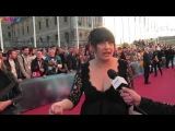 ESCKAZ in Stockholm Kaliopi (Macedonia) sings on the Red Carpet