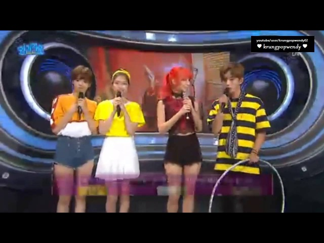160724 Inkigayo MIss A Fei Interview CUT 1