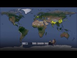 Рост населения мира за последние 2000 лет