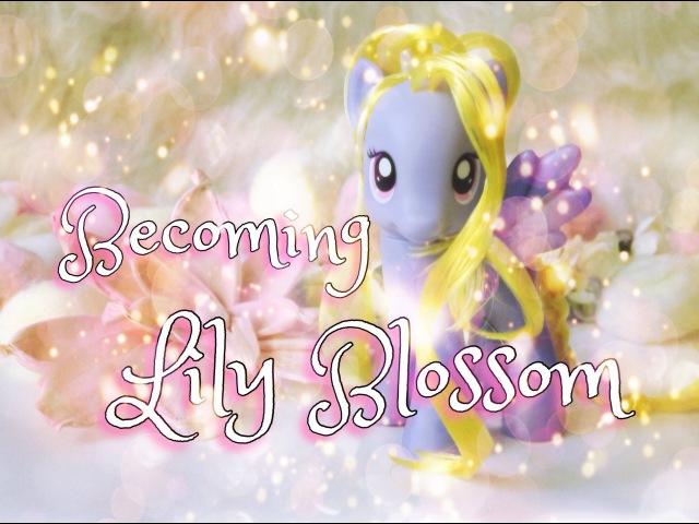Lily Blossom MANE STYLE Tutorial Прическа Лили Блоссом