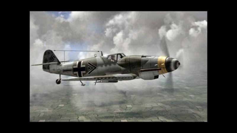 Самолёты Люфтваффе. Истребители Восточного фронта