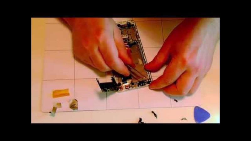 Bluboo Xtouch: как разобрать телефон, заменить дисплей (видео от пользователя)