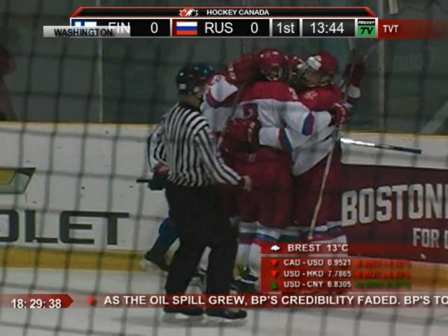 Oct 31, 2016 WHC-17: Finland 0-2 Russia