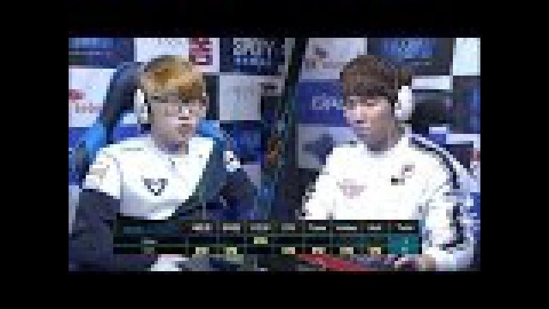 SK 텔레콤 프로리그2016 강민수 삼성 vs 박령우 SKT 3세트 EsportsTV 스타크래프트 2