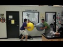 Exercise ball fail