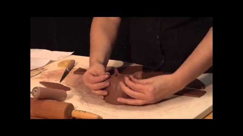 How to Make Gestural Sculptural Pottery Using Soft Slabs - Part One - Tammy Marinuzzi