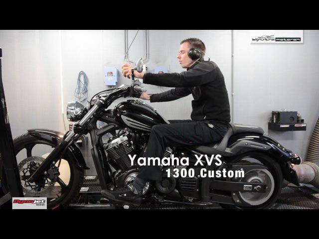 Dynojet testrun Yamaha XVS 1300 Custom (Stryker), Klijnstra Motoren