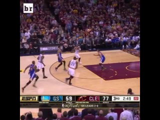 LeBron can fly