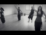 Fusion of body percussion and dance by Santi&ampMariona Duet feat. Dansara (India.Arie