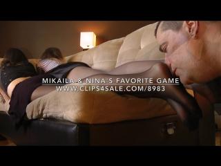 Mikaila & Nina's Funny Game - www.c4s.com/8983/16806282