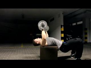 4 Мощных Упражнения с Гантелями! (МАССА) Игорь Войтенко