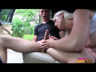 Blanche bradburry - busty blonde rides stud's cock [2016 г., sex in car, outdoor, bj, deep throat, big tits,hardcore, 1080p]