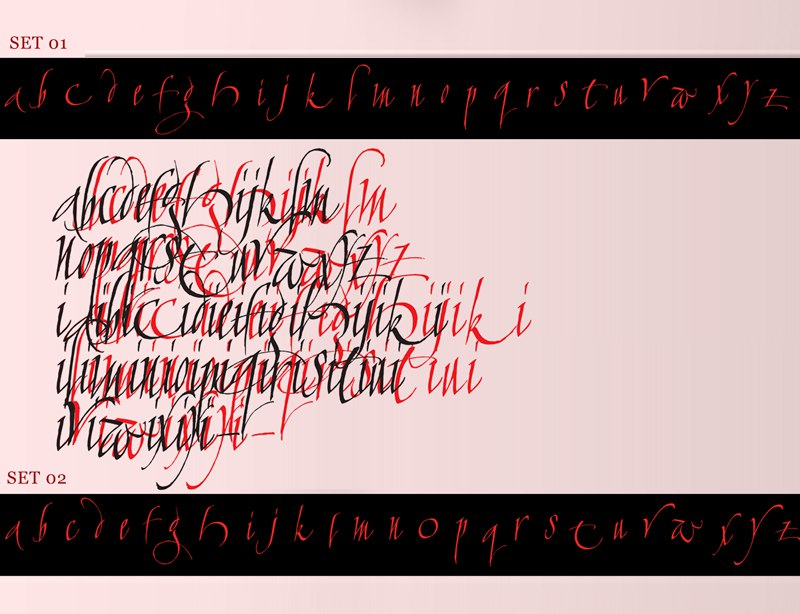 Download calligraphunk font (typeface)