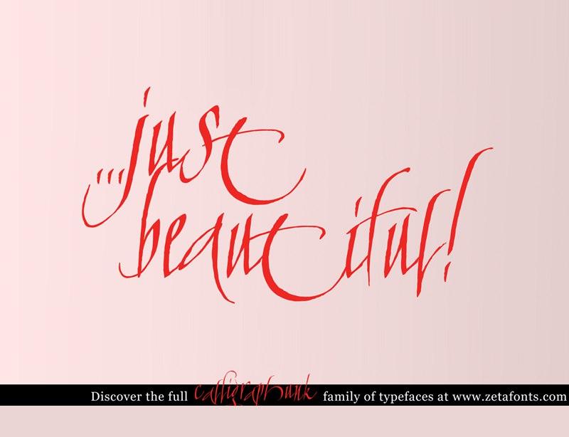 calligraphunk шрифт скачать бесплатно