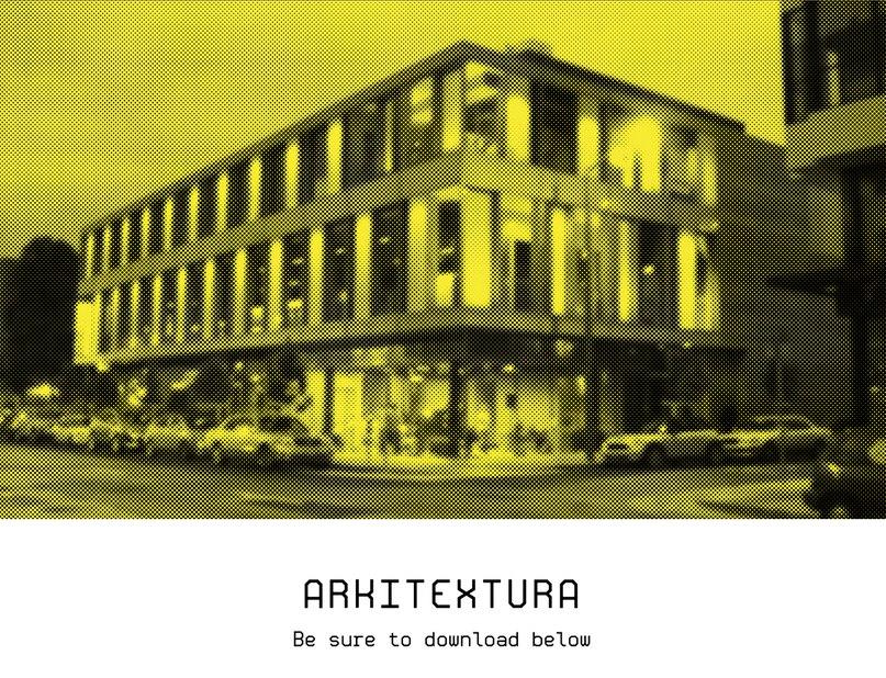 Arkitextura шрифт скачать бесплатно