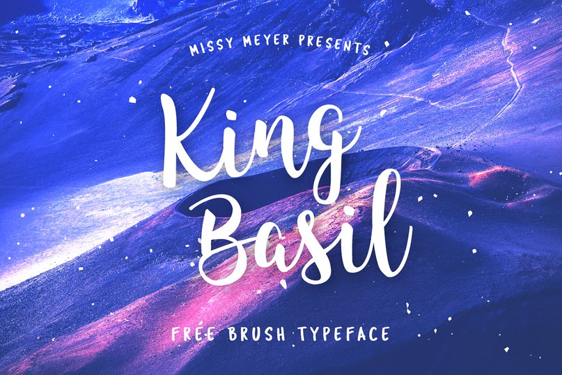 шрифт King Basil