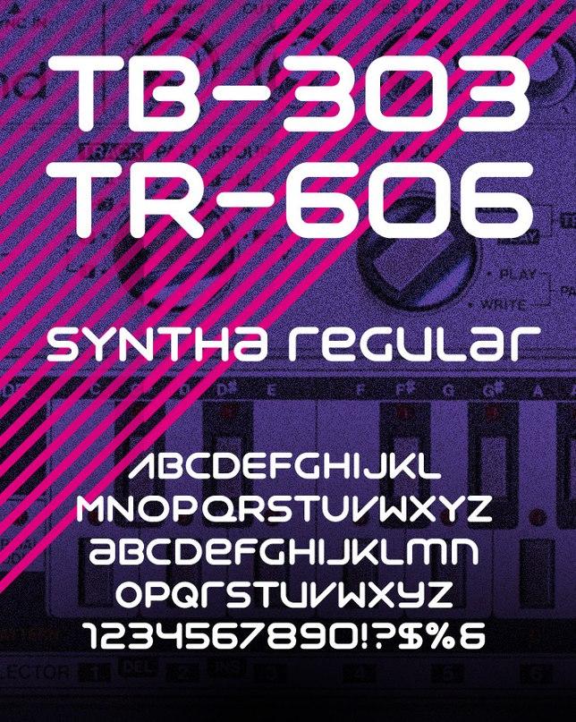 syntha шрифт скачать бесплатно