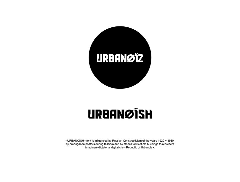 Download URBANOISH font (typeface)