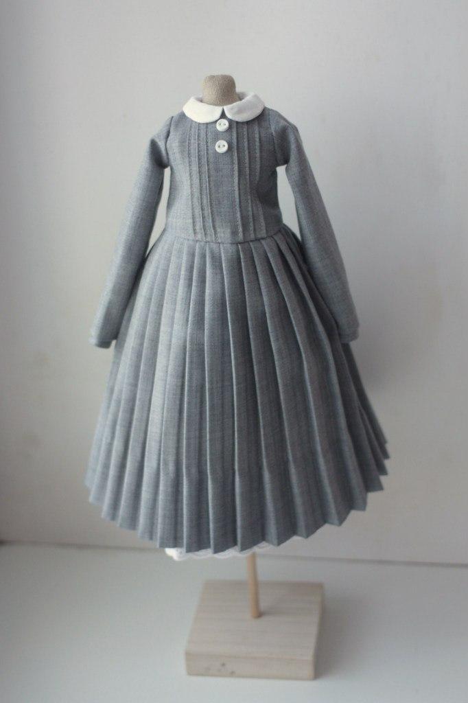 платье для куклы тильда