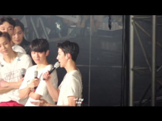 [FANCAM D1] 160318 EXOPLANET #2 - The EXO'luXion in Seoul[Dot] @ Sehun - talk