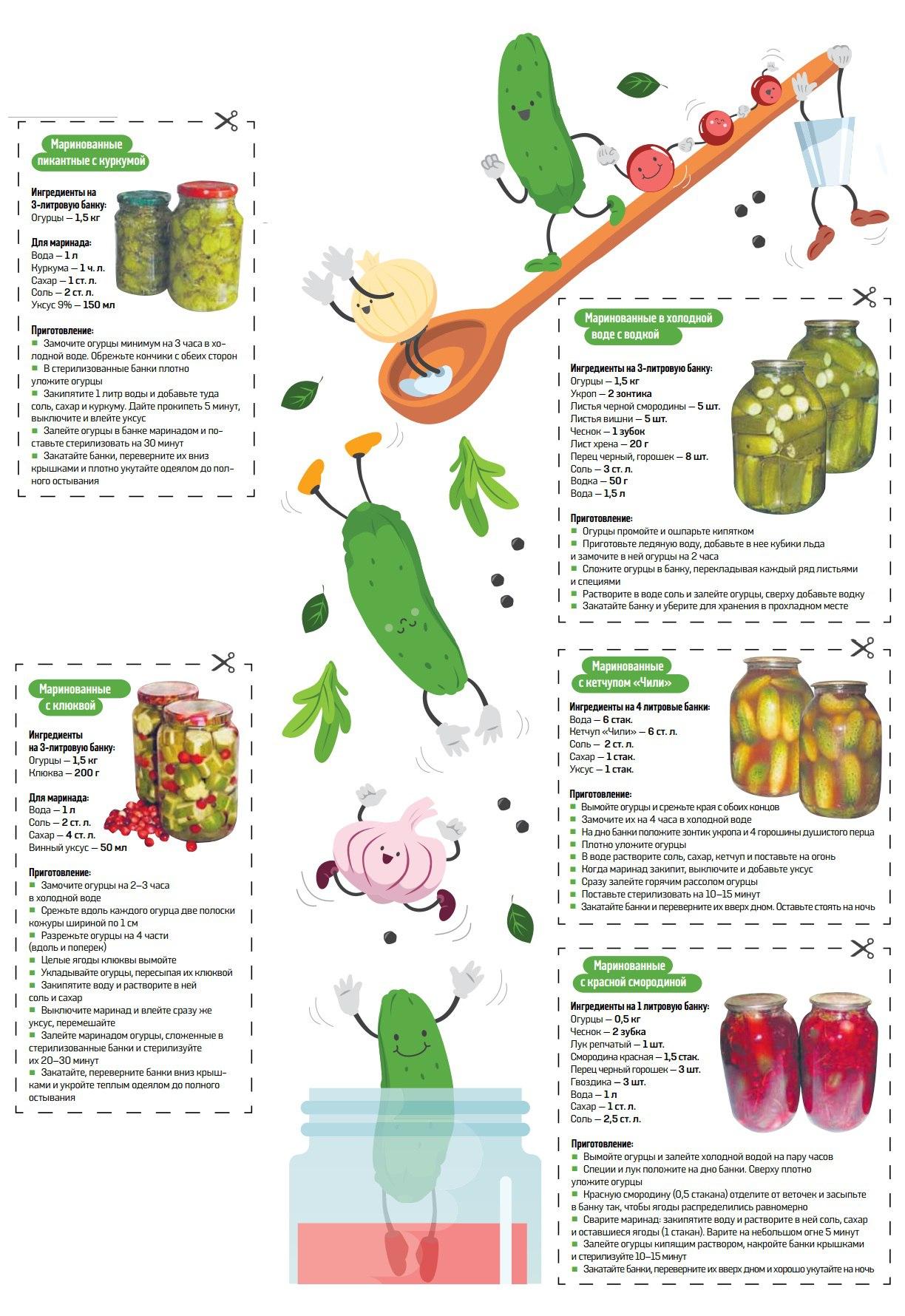 Как мариновать огурцы рецепты