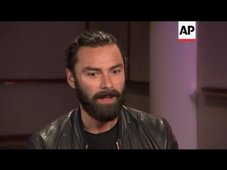 Aidan Turner's interview during the Poldark 2 promo tour in the U.S. (July 28, 2016)