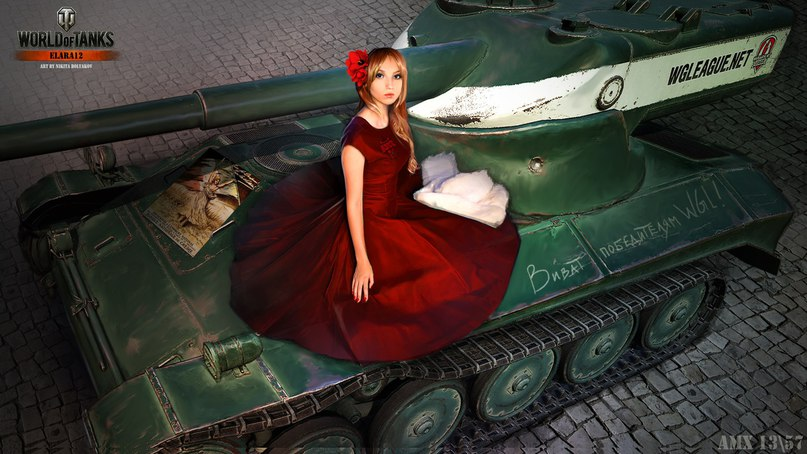 photo of girls танки № 31829