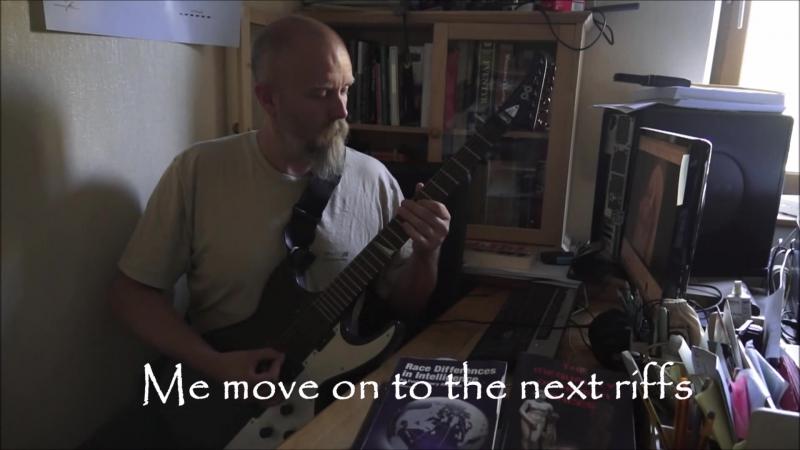 BURZUM LIVE, Part X Jeg Faller riffs (there is no track called Fallen....)