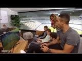 Игроки Баварии играют в FIFA 17