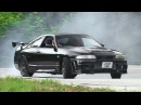 300hp Nissan Skyline R33 Drifting On A Lovely Touge Course 峠ドリフト - Driver: Luca Merli