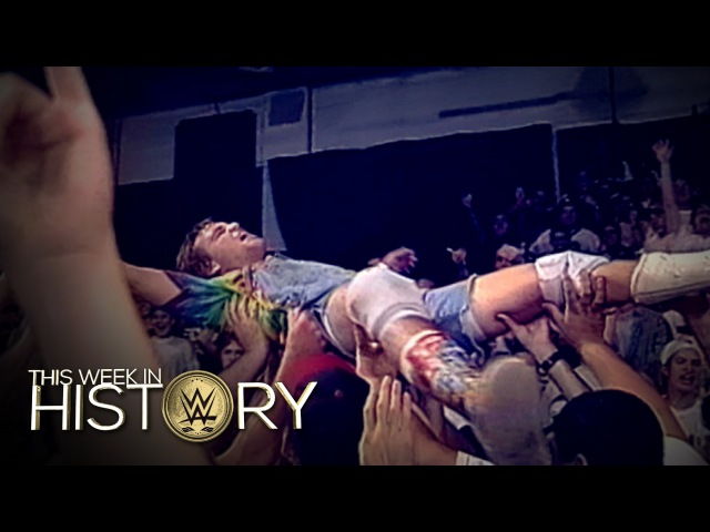 [My1] Spike Dudley crowdsurfs at the ECW Arena This Week in WWE History, Sept. 22, 2016