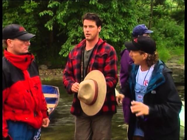 Unedited B-roll footage from the shooting of Due South, Season 3