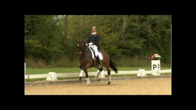 Hans Peter Minderhoud rides Escapado at the Dressage Masters (TRAILER)