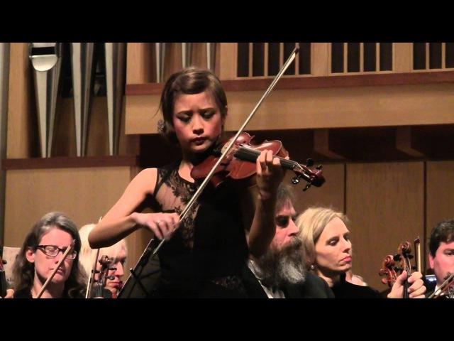Chaconne by Tomaso Vitali - Violin Jennifer Tzeng with Palo Alto Philharmonic Orchestra