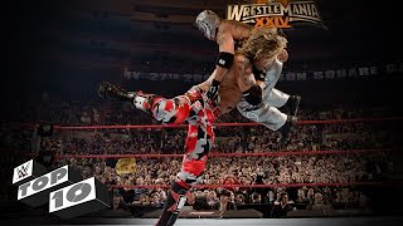 Amazing Mid-Air Finishers WWE Top 10
