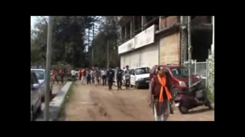 Sahaj Yoga-- Swagat of Shree Maa Seminar Shiv Ratri Puja,Ludhiana,28.02.14 Part A-1