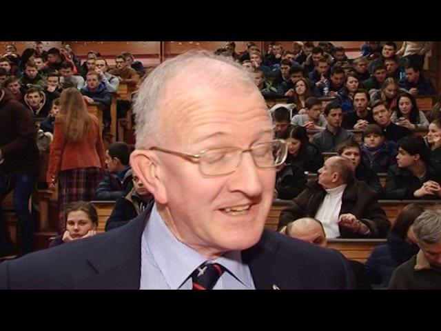 Відомий вчений із Великобританії вперше виступив перед полтавськими студентами