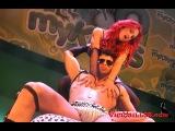 Show Erotico de Camila Montalban junto al Modelo Ben Mns