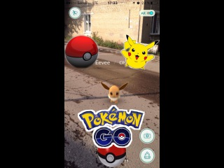 Покемон Го как играть Pokemon Go  , обзор игры , ловим покемонов с Дашей