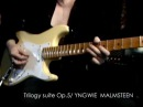 Trilogy Suite Op 5 Yngwie covered by Kelly SIMONZ