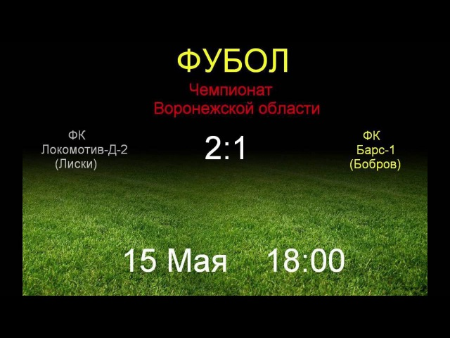 Локомотив Д 2 Лиски 2 1 Барс 1 Бобров