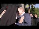 Встреча Президента РФ В.В. Путина и 100-летнего игумена Пантелеимонова монастыря архимандрита Иеремии