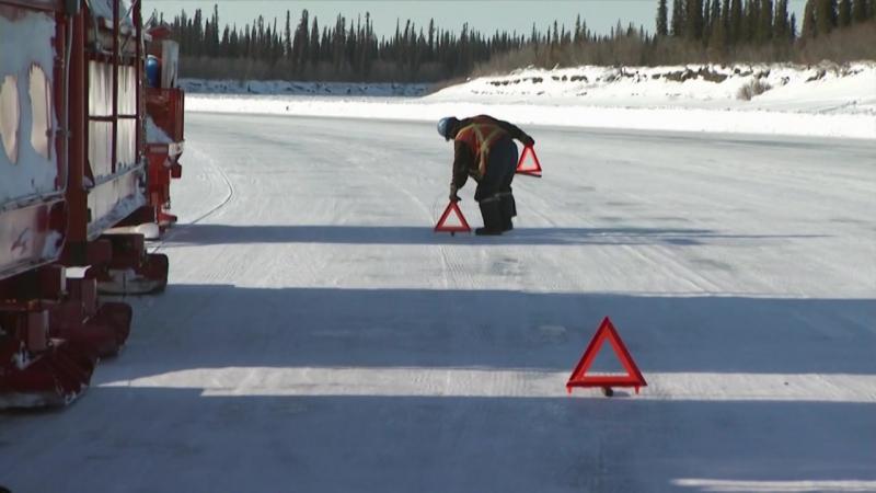 Ледовый путь дальнобойщиков 2 сезон 10 серия из 14 / Ice Road Truckers (2008) HD 720p