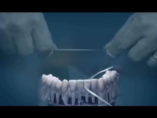 Как правильно пользоваться зубной нитью (флосом)