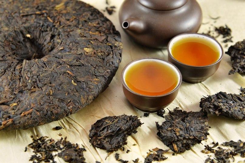 Как выглядит пуэр чай