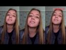 БАСТА - ВЫПУСКНОЙ,МЕДЛЯЧОК (cover by Анна Барабошина),красивая девушка классно спела кавер,красиво поет,классный голос,поёмвсети