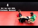 4 BJJ Leg Lock Drills Continuous Movement For Both People