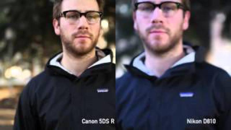 Canon EOS 5DS R Video AF Comparison vs D810 vs a7R II by DPReview.com