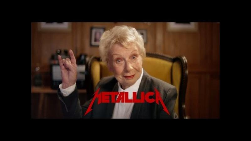 Metallica Grandma - You Dont Say No To Metallica