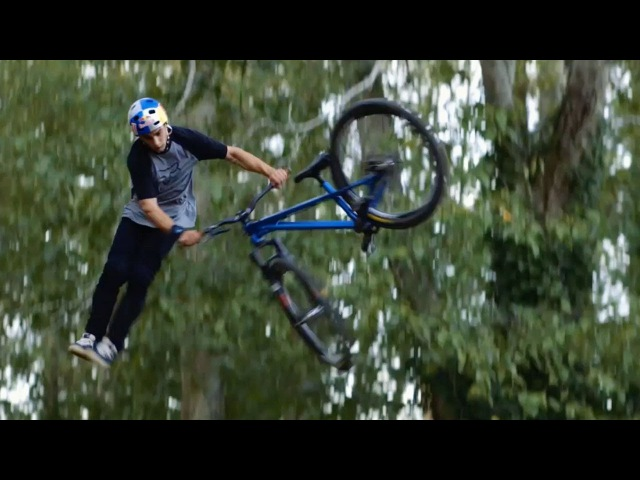 Anthony Messeres Flowy MTB Session on Backyard Dirt Jumps | Raw 100